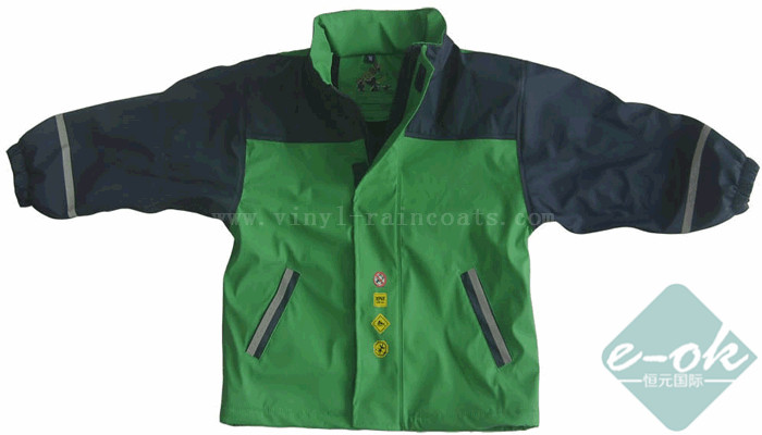 PU Rain Jacket PU Raincoats