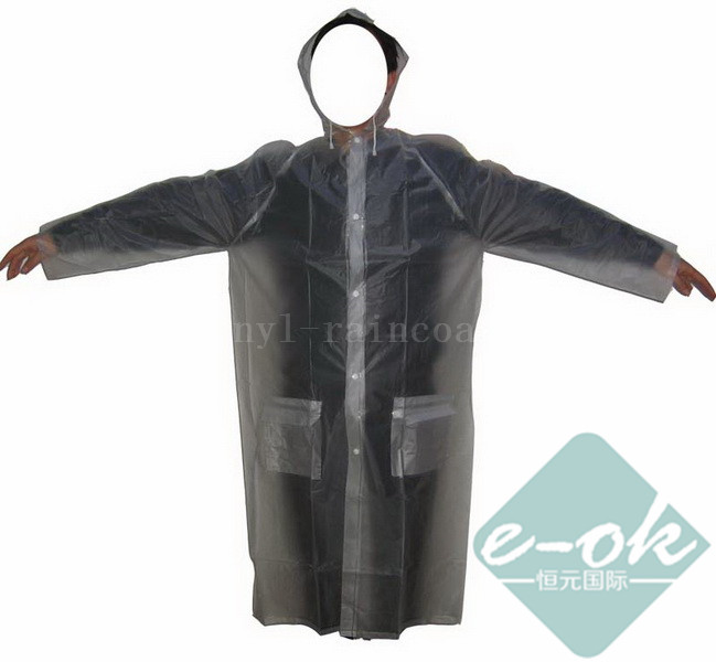 Promotional Vinyl Raincoats PVC-043